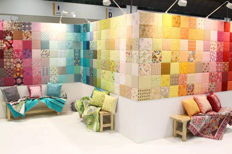Exhibition Stand Fabric : May art gallery fabrics the creative