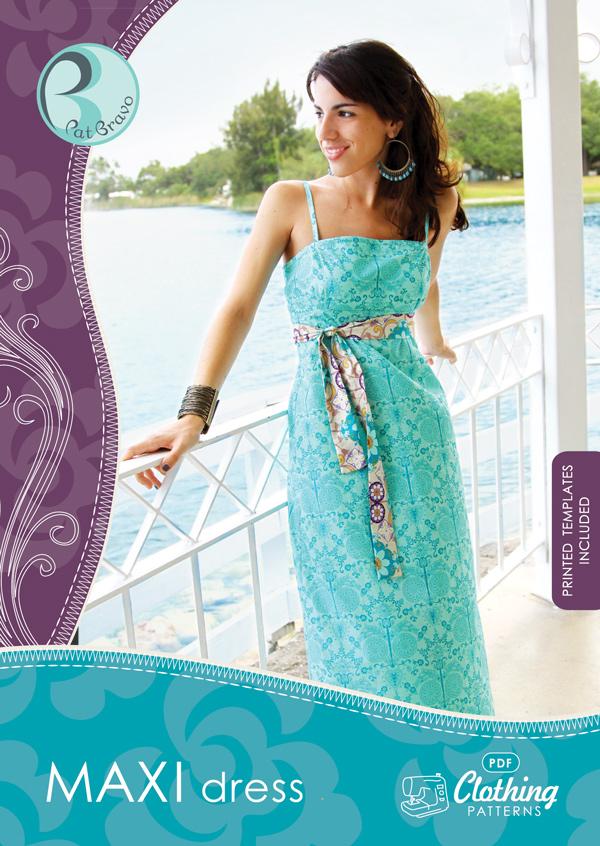 Maxi Dress Pattern - Art Gallery Fabrics - The Creative Blog