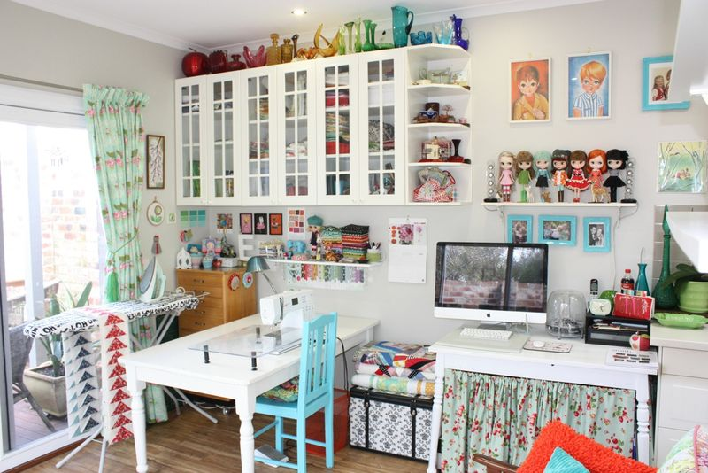 10 Creative Sewing Room Ideas On A Budget: sewing room ideas for small spaces