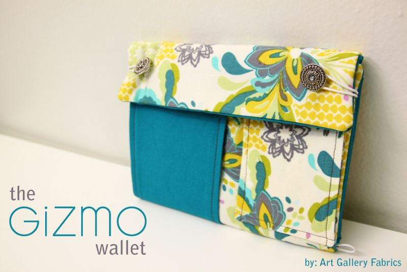 The Gizmo Wallet by AGF - Art Gallery Fabrics - The Creative Blog