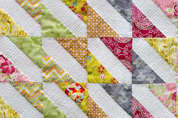 Fat Quarter Gang Baby Bows Quilt Tutorial By Made During