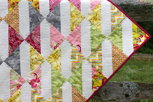 Fat Quarter Gang Baby Bows Quilt Tutorial By Made During Quiet