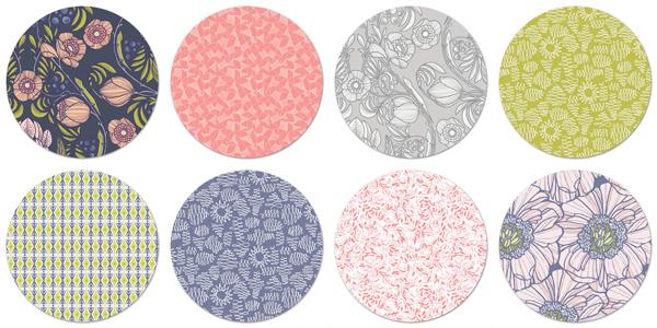Art Gallery Luxe in Bloom Baby Quilt Fabrics