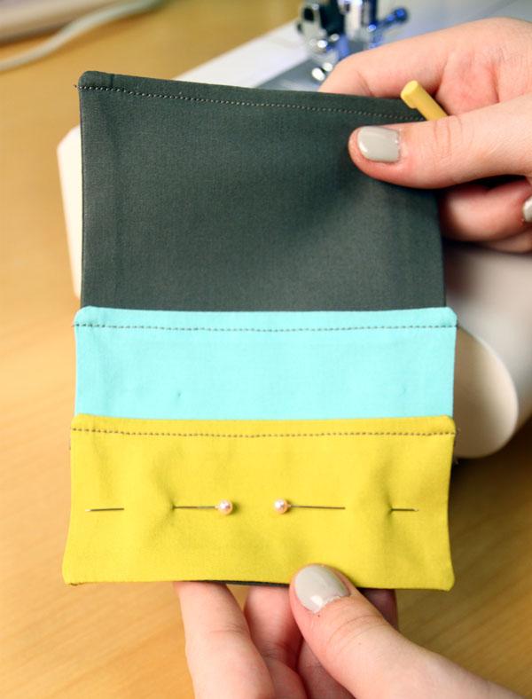 Pockets sewen