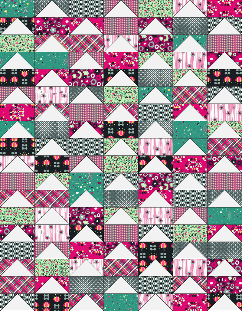 Fly Home Quilt Pattern