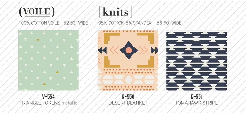 Knits and voiles