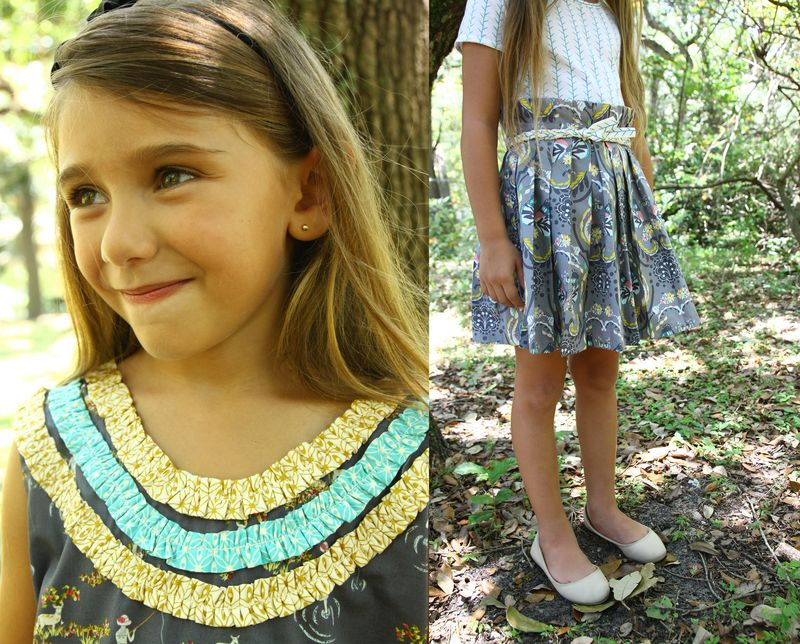 Girl_gray_dress_skirt