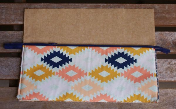 Clutch Lining Adhesive : Agave clutch tutorial art gallery fabrics the creative