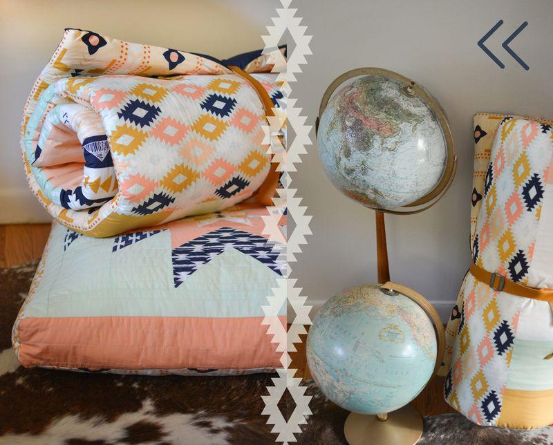 Sleepingbag_pillow_globe