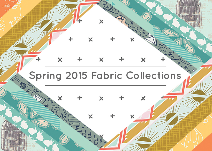Spring 2015 fabric collections graphic