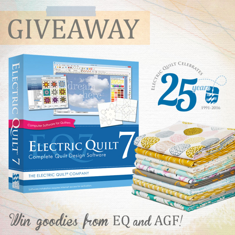 The Big Electric Quilt Agf Giveaway Art Gallery Fabrics The Creative Blog