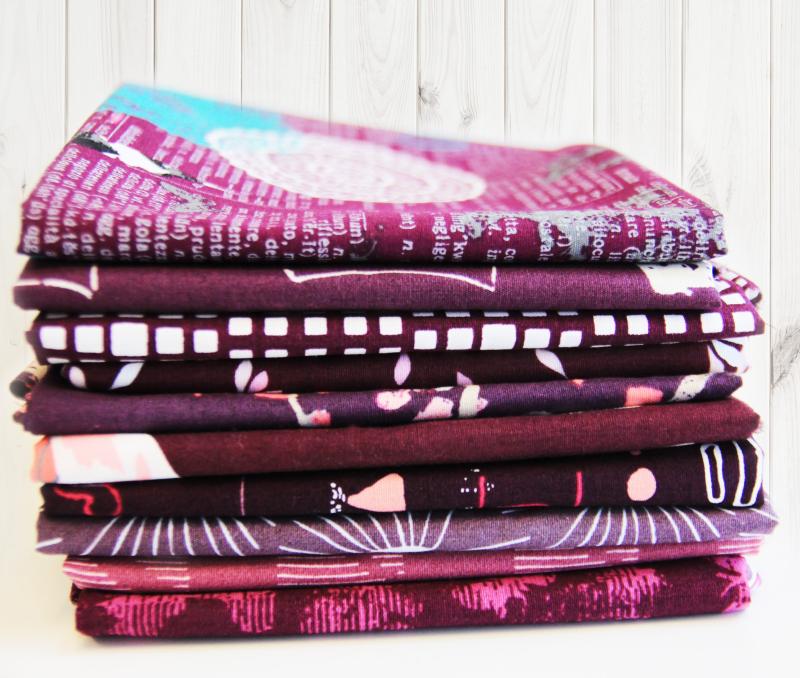 Plum-fabric