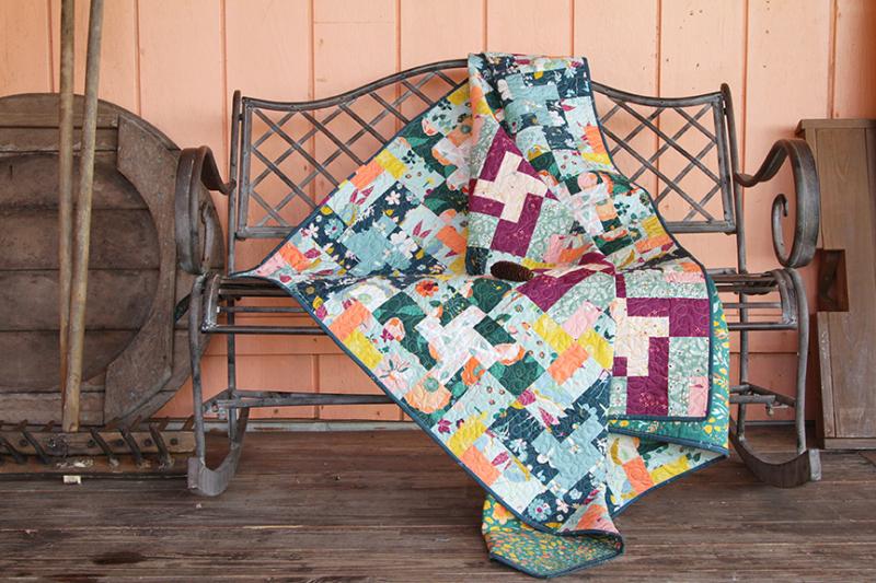 Garden Dreamer Product Inspiration Quilt Free 2