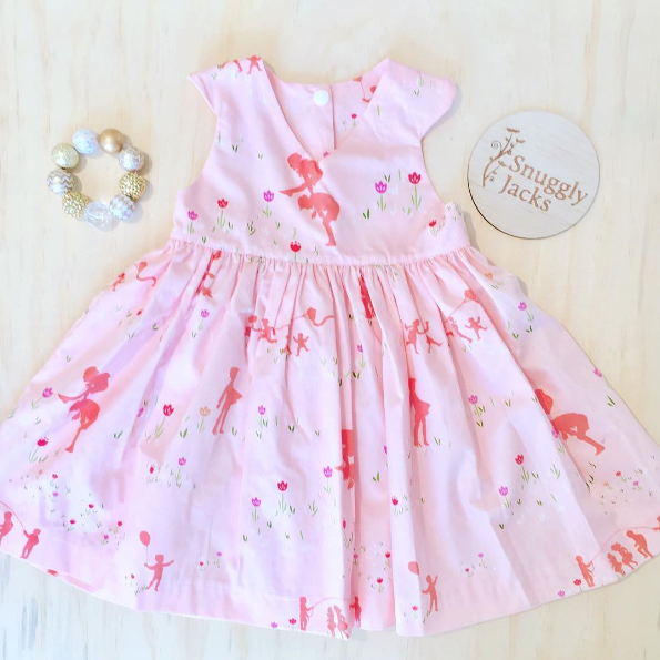 Paperie dress @semsfabrics