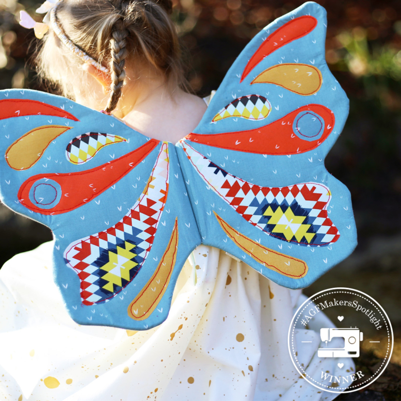 Butterfly wings with seal