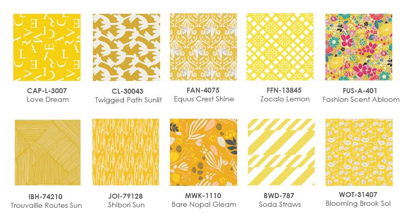 Yellow Fabrics graphic1