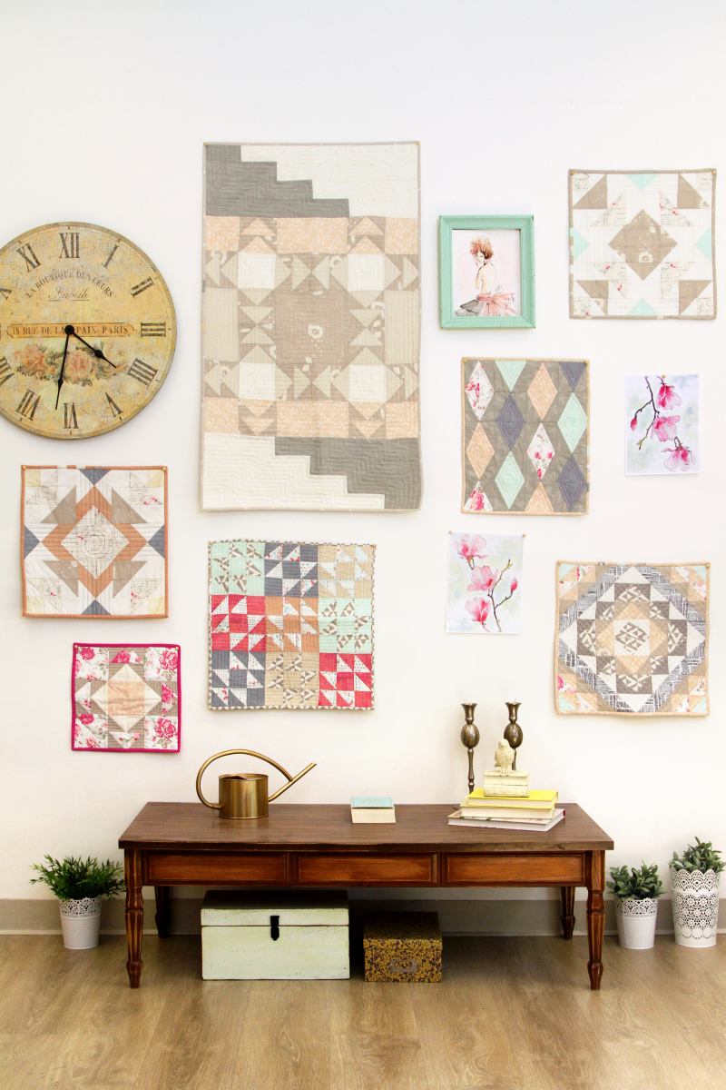 Le Vintage Chic Mini Quilts 1