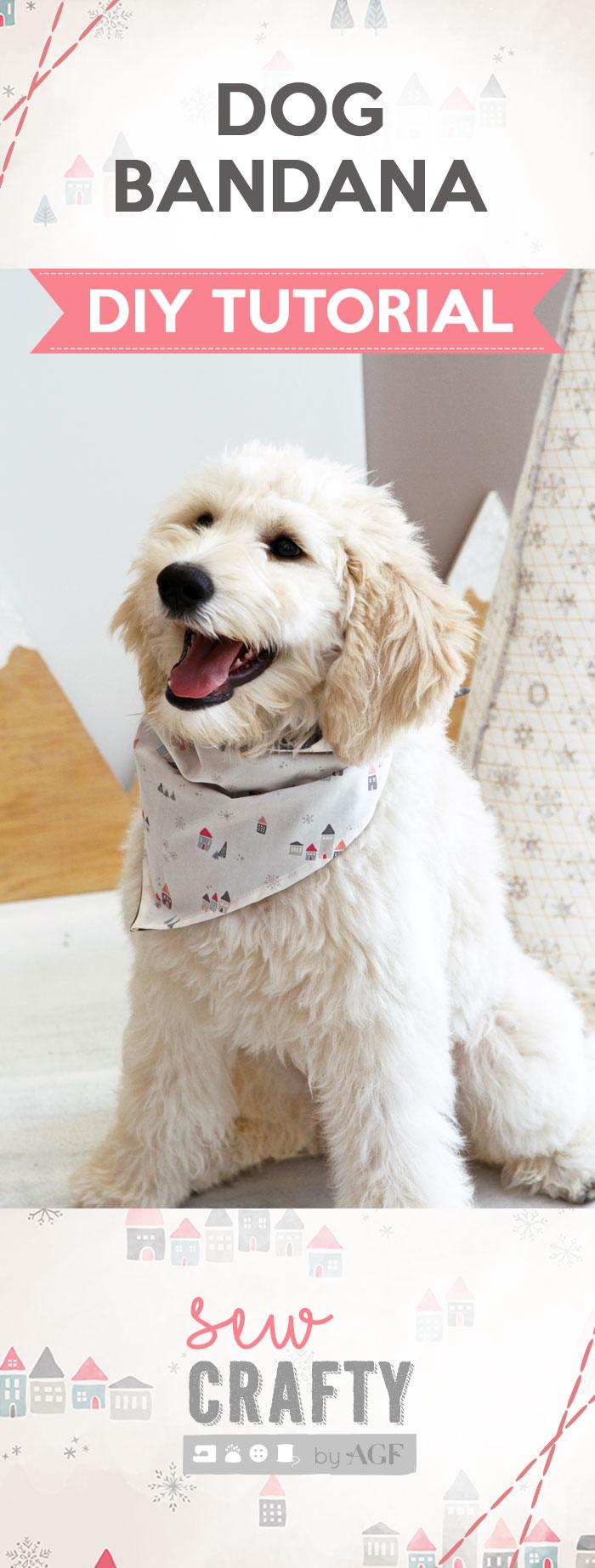 Dog Bandana Diy How To Make A Cute Dog Scarf Sew Crafty
