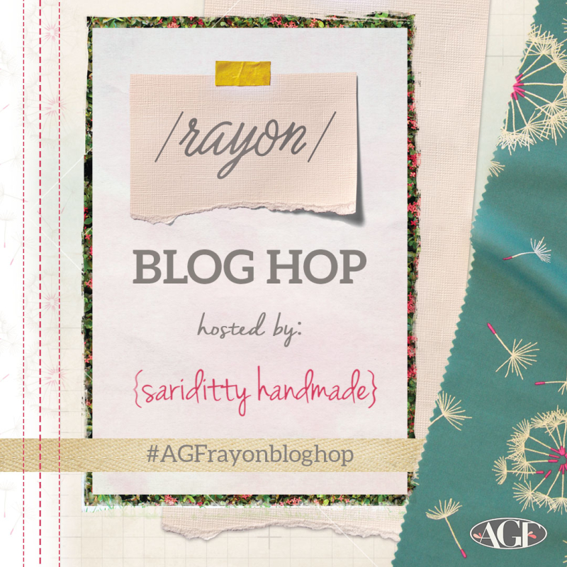 Rayon blog hop graphic