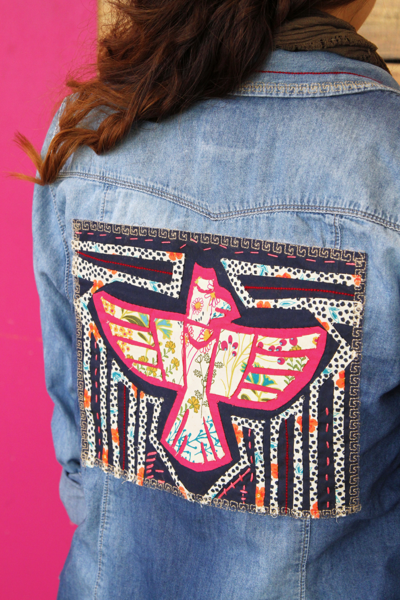 Indie Folk Jacket Applique 2