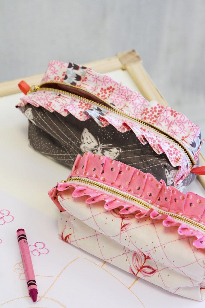 Explore Amy Sinibaldi's imaginary world with Dollhouse fabrics - Art