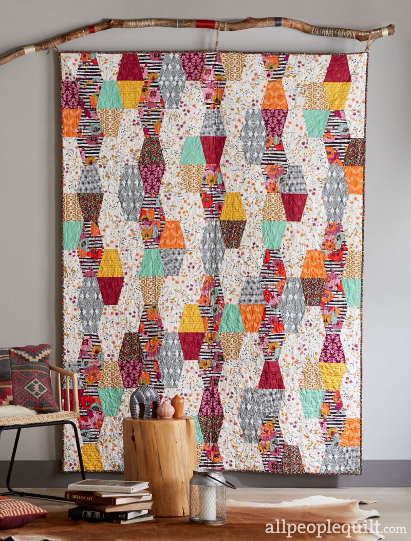 Spice Rack Quilt Featuring Spices Fusion From Quilts And More