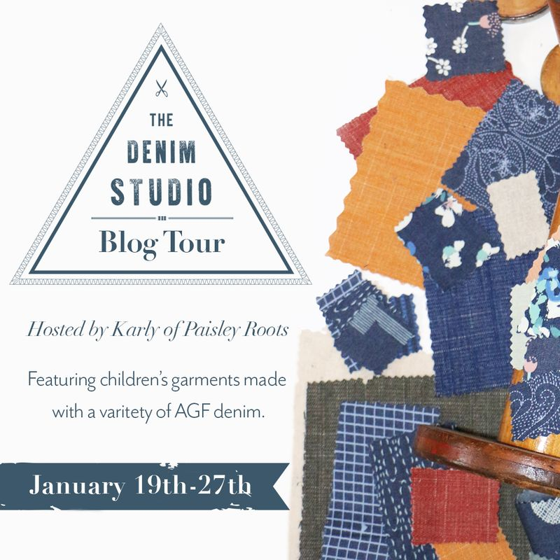 Denim Studio Kids Blog Tour Graphic