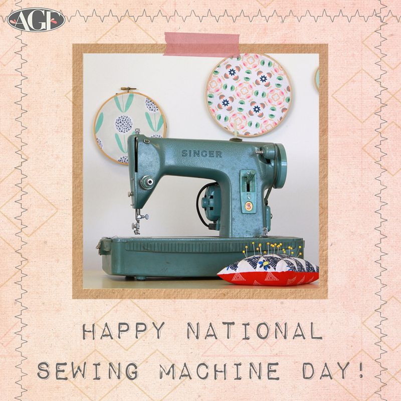 Sewing day graphic