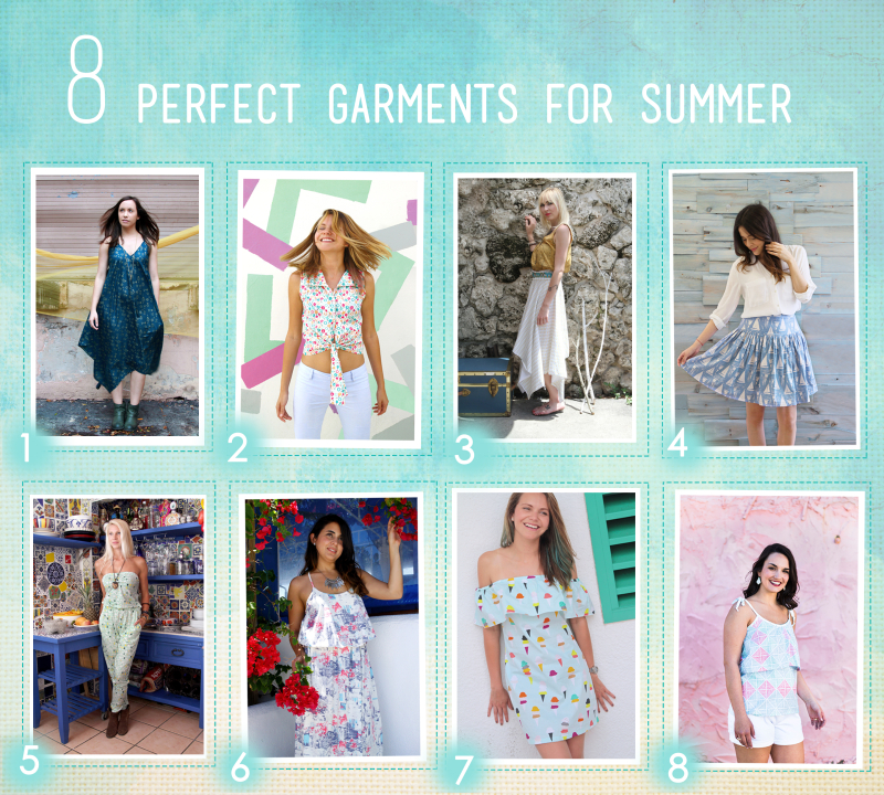 8 perfect garments for summer blog post