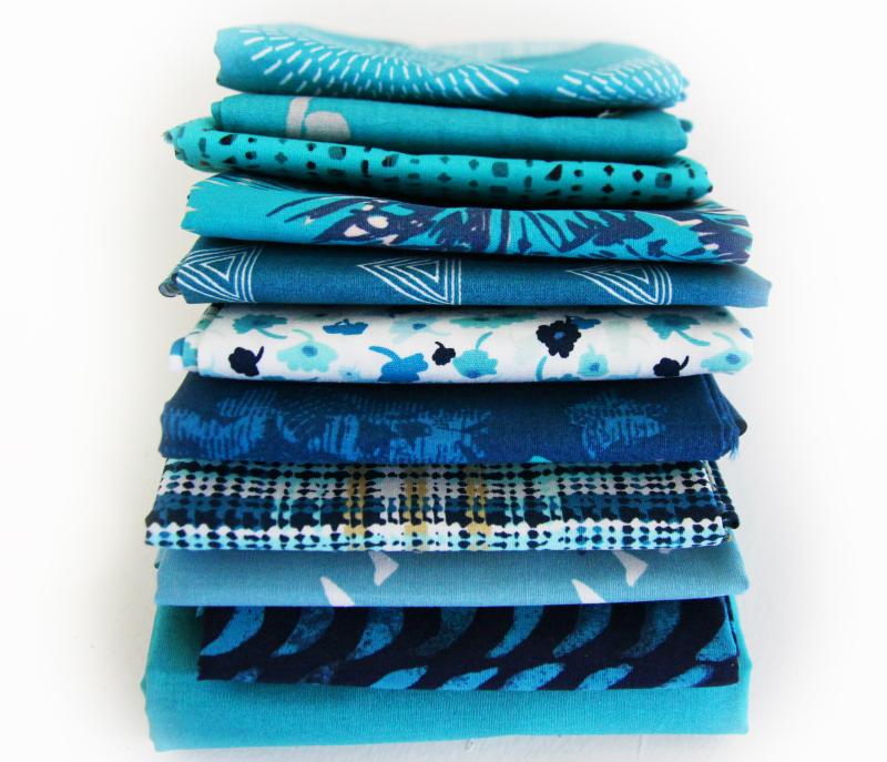 Teal-fabrics
