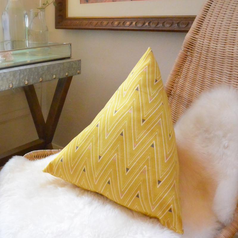 Artisan Pyramid Pillow