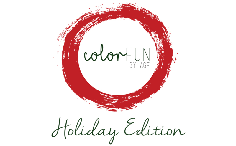 ColorFun fabrics  holiday edition logo