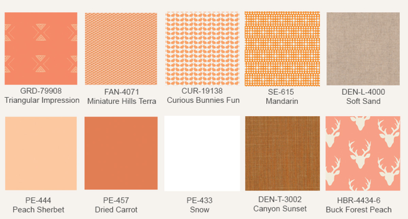 Tangerine-fabric-prints