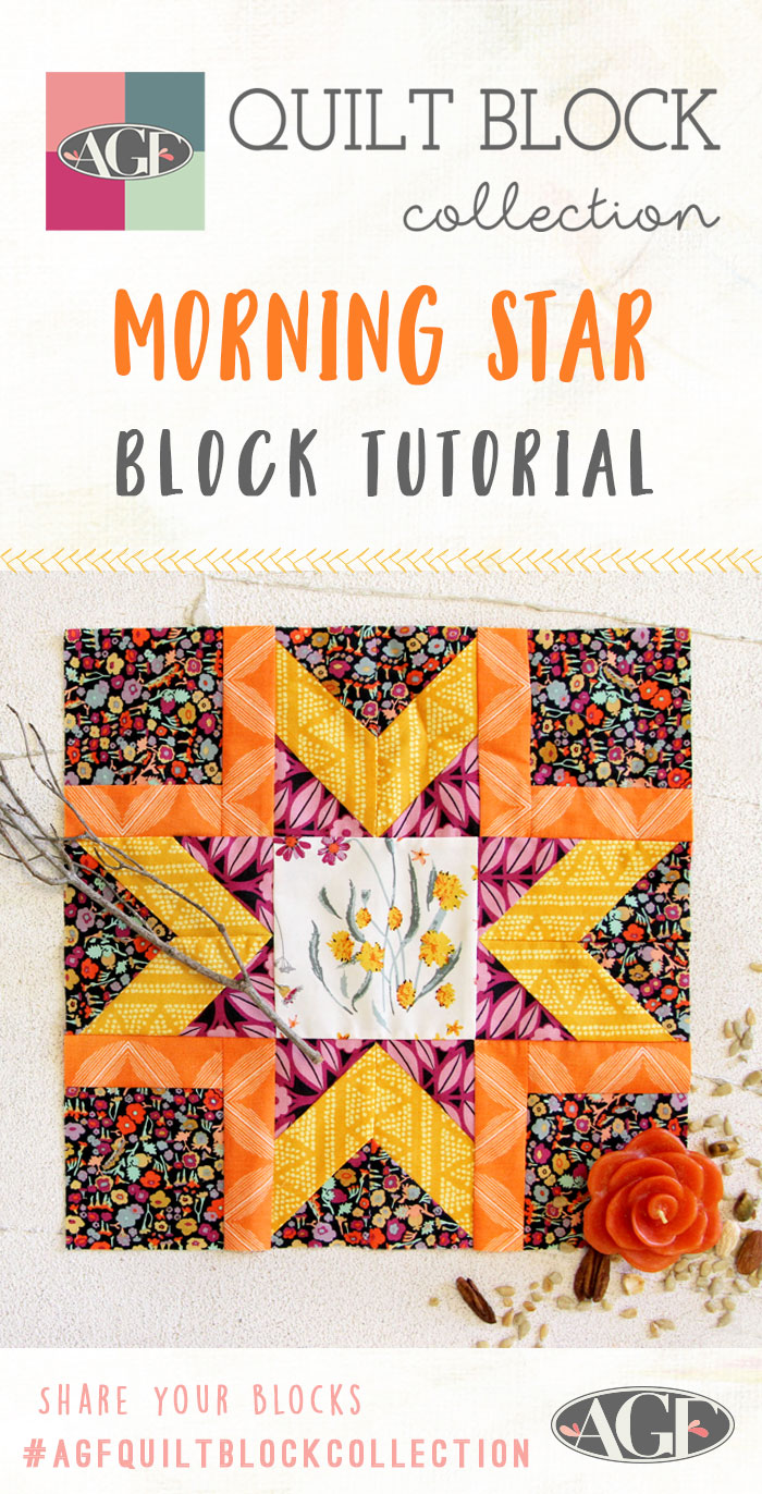 Agf Quilt Block Collection Brighten Your Day By Making A Morning