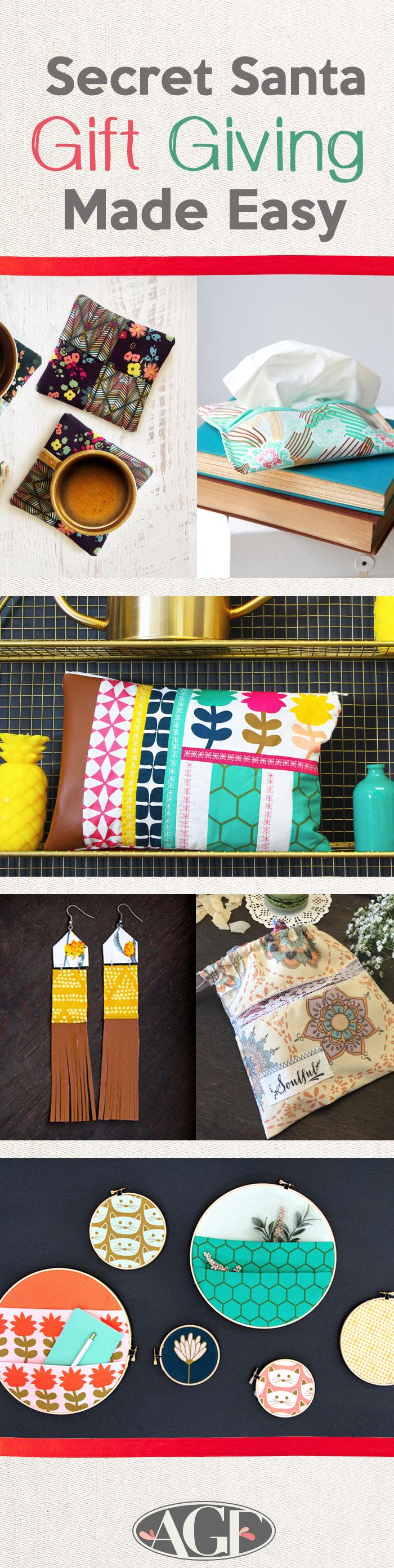 Pinterest-Secret Santa-Gift Giving Made Easy