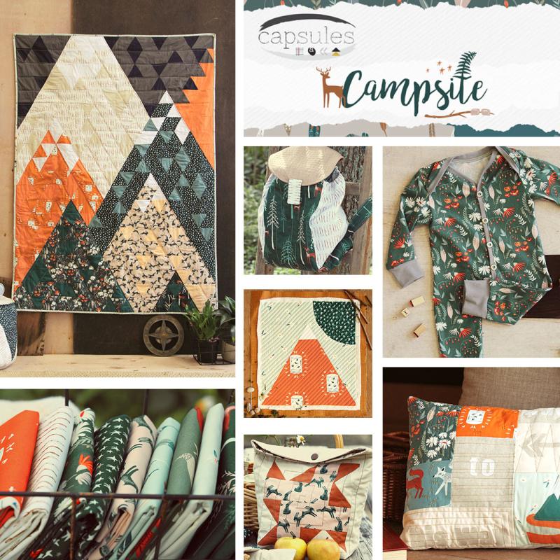 Capsules collage- campsite