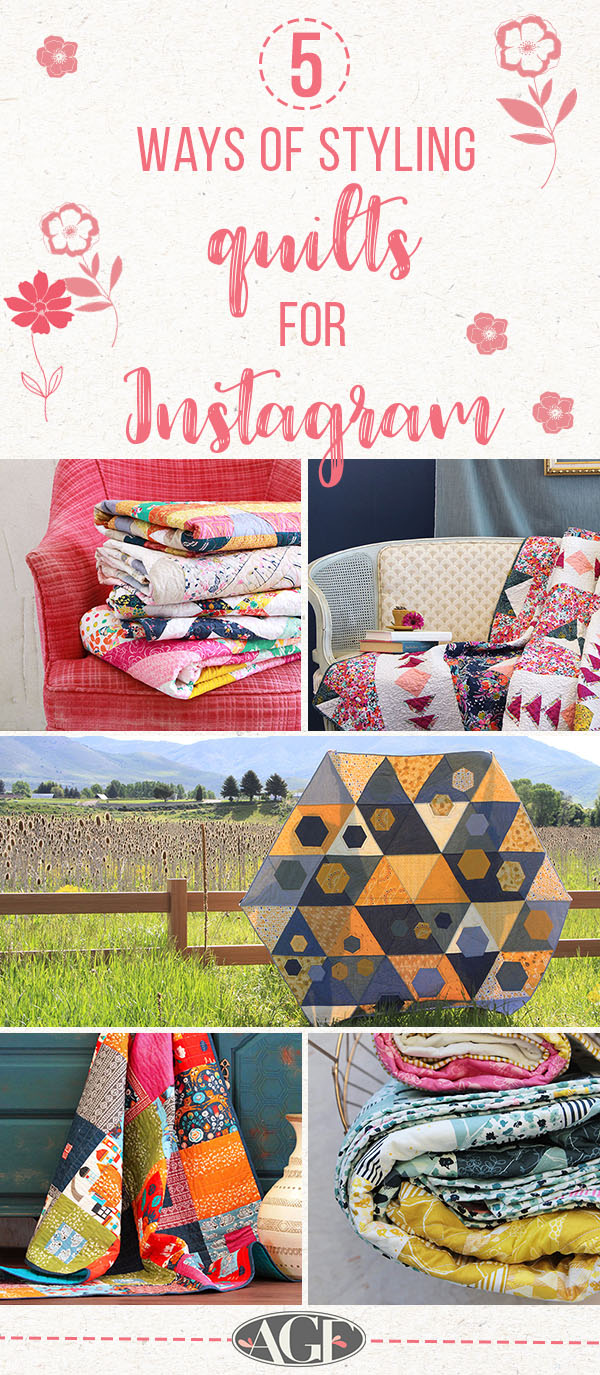 Ways of styling quilts 2