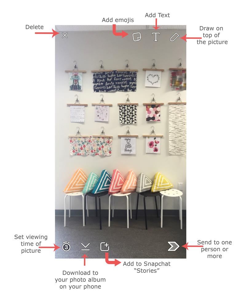Homescreen snapchat art gallery fabrics