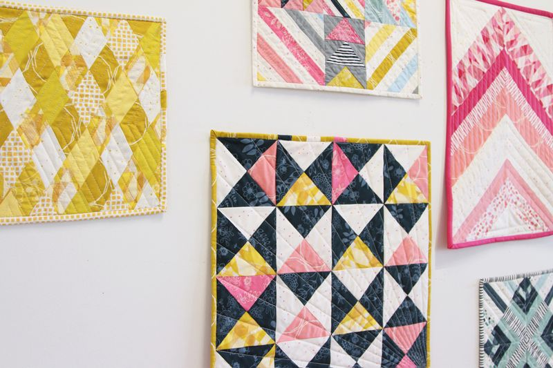 Art Gallery Fabrics_Essentials-II_Mini-Quilts