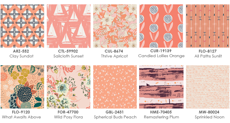 Coral Fabrics graphic