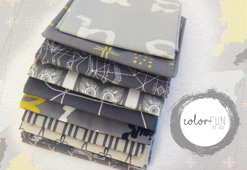 Grey-fabric