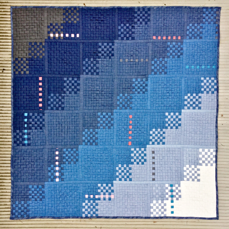 Mister domestic's woven quilt