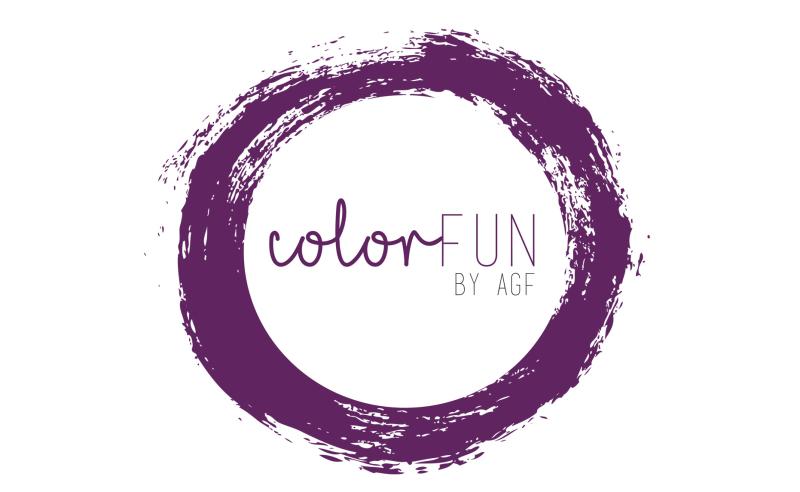 ColorFun Logo plum