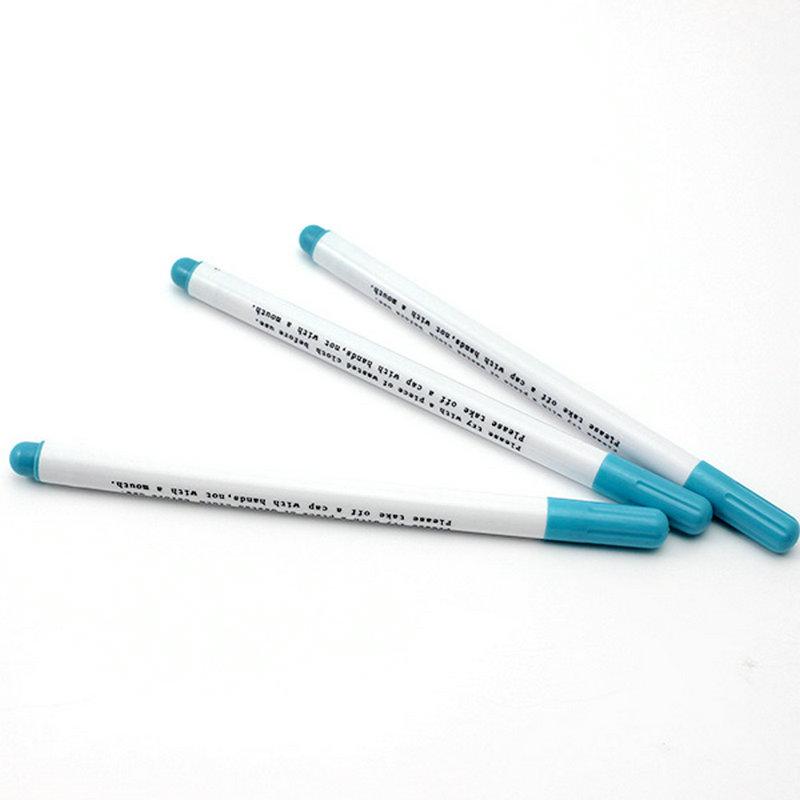 5Pcs-Blue-Water-font-b-Erasable-b-font-Fabric-font-b-Marker-b-font-Marking-Pen