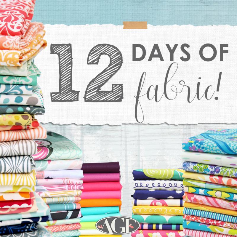12 days of fabric graphic