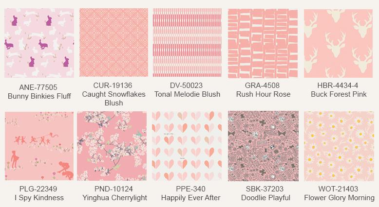 Pink-fabric-prints