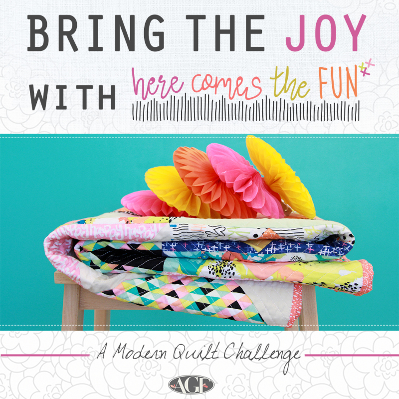 Here Comes the Fun Challenge_Modern Quilting