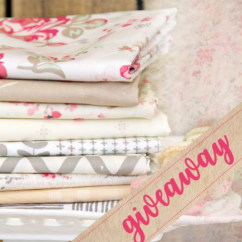 Vintage chic giveaway graphic