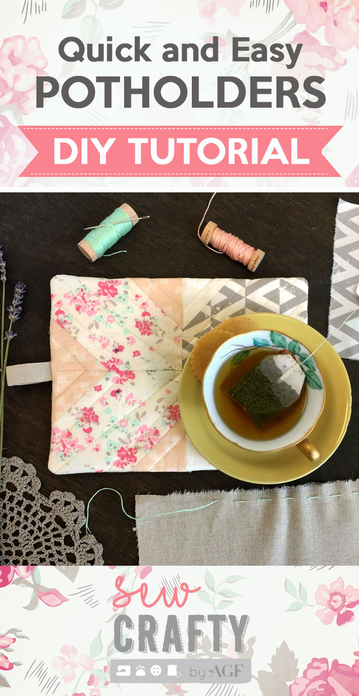 Pinterest-Quick-Easy-Potholder Tutorial