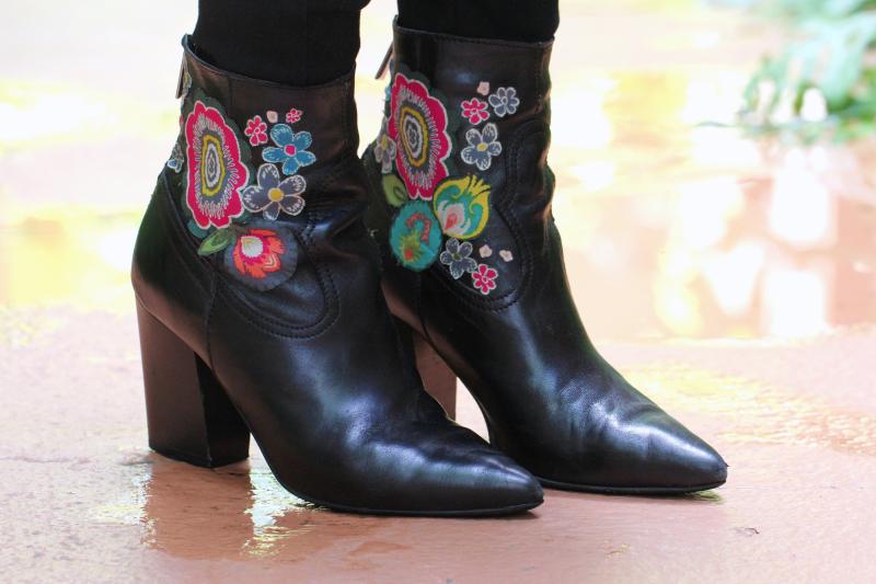 Indie Folk Kimono & Boots 9